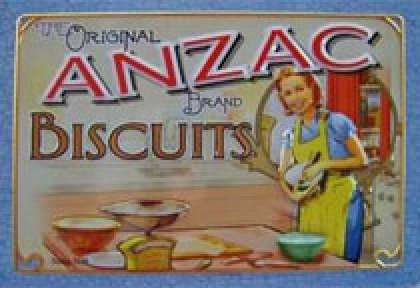 Less biscuits ANZAC