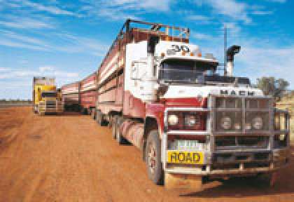 Road Train en Australie