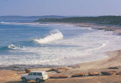 Kalbarri National Park - Red Bluff Beach