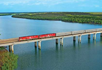 Australie Train The Ghan