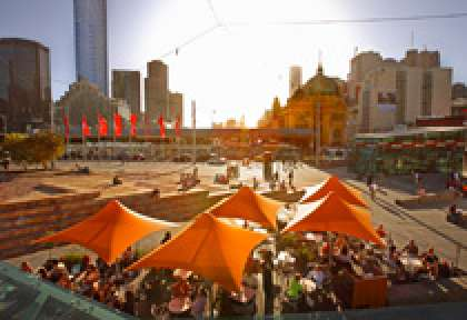 Melboune Federation Square