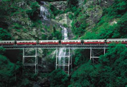 Australie Train Kuranda Scenic Rail