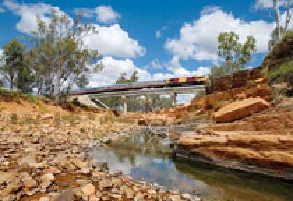 Australie Train Spirit of Outback