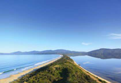 Tasmania - the Neck Bruny island